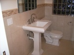 Finished Bathroom Sink  in Lake Forest