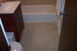 Finished Bathroom Remodeling Project in Winnetka