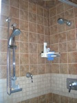 Finished Bathroom Remodeling Project in Portage Park